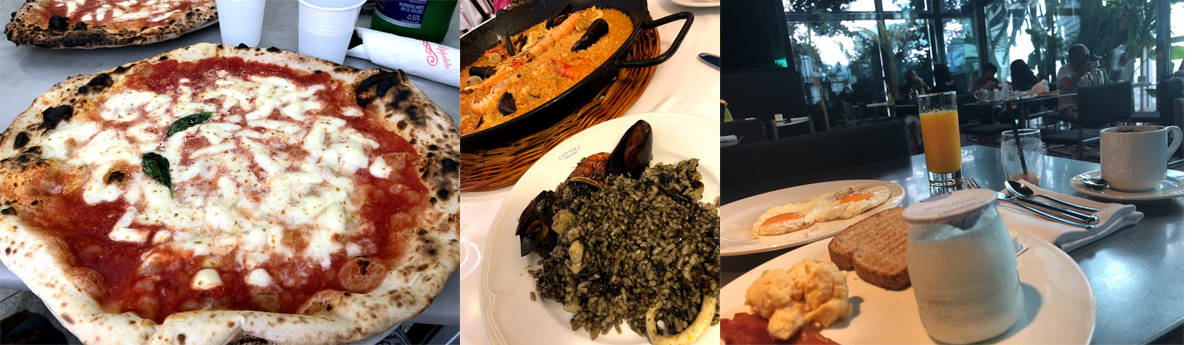 海外旅行保険を節約しておいしい食事