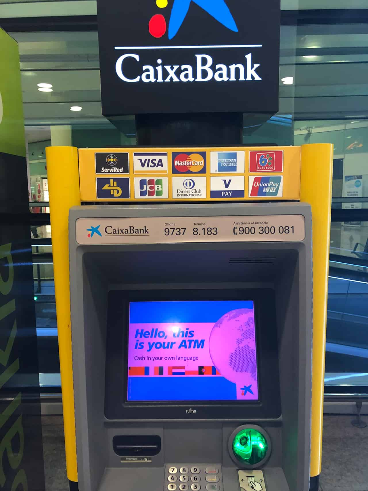 エルプラット空港ATM