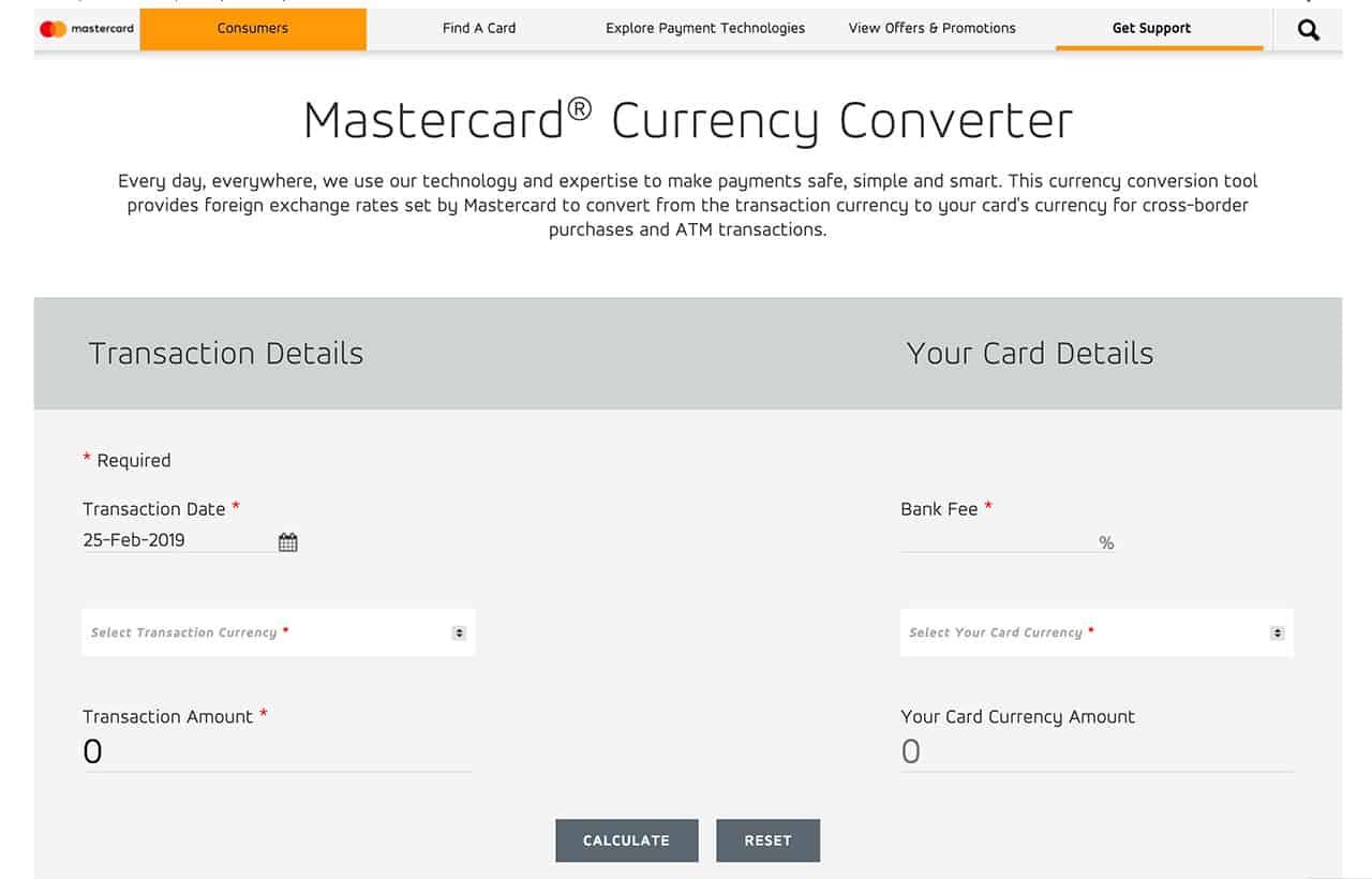 Master exchange rate jpg